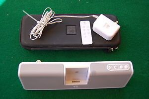 Logitech MM50 Portable Speakers Dock iPod iPhone Battery Rechargeable Charger