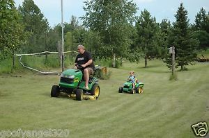 "John Deere Hydro Garden Tractor Riding 48"" Lawn Mower Model L120 Hydrostatic"