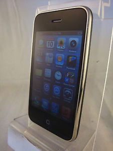 Apple iPhone 3GS Black 8GB Cell Phone Factory Unlocked GSM Quadband Any Sim
