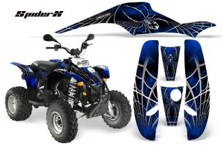 Polaris Trailblazer Scrambler Graphics Kit Creatorx Decals SXBL