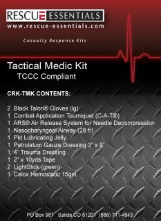 Tactical Medic First Aid Kit 30 0580