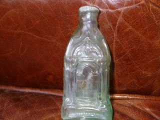 Antique Pre Civil War Cathederal Bottle