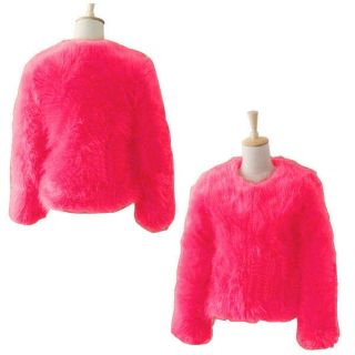 Vintage Women Winter Warm Outwear Faux Fur Coat Tops Long Hair Overcoat Jackets