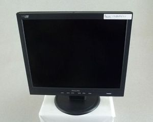 "Philips 170S6FB 17"" LCD Flat Panel LCD Computer Monitor"