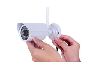 1 0 Megapixel HD Outdoor Waterproof IP Camera with Poe for Android and Phone
