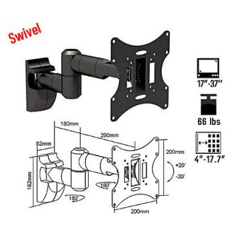 Tilt Swivel TV LCD LED TV Wall Mount Bracket 17 20 21 25 27 30 32 34 for Samsung