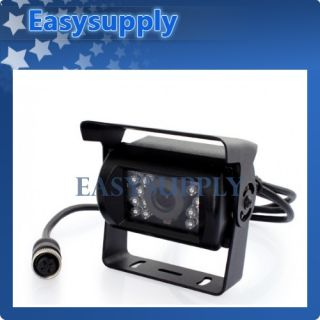 Truck Tractor Reversing Security System 4X Rear View Camera Kit 4CH Monitor