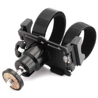 New 360 Swivel Ball Head Bicycle Action Mount for Digital Cameras Camcorders