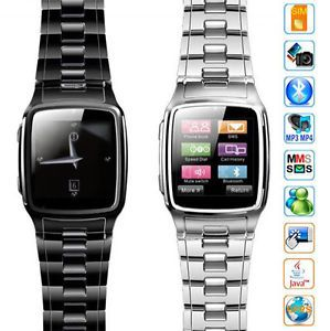 2012 Stainless Steel Touch Screen Java Watch Mobile Cell Phone at T GSM Unlocked