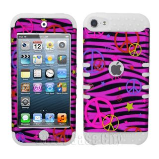 Silicone Zebra iPod Touch Case