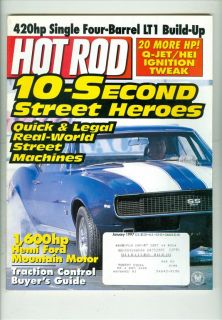 1997 Hot Rod Magazine 10 Second Street Heroes
