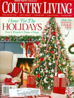 2006 Country Living Magazine Holiday Christmas Tree