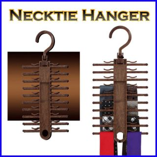 Necktie Tie Hanger Rack Holder Home Closet Organizer Storage Hook Made in Korea