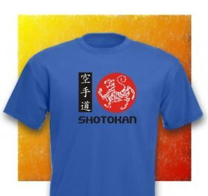 Shotokan Karate Martial Arts Heavy Cotton T Shirt