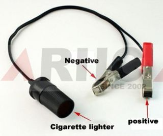 New 12V 24V 0 38M Extension Cord with Cigarette Lighter Plug for Car 60W