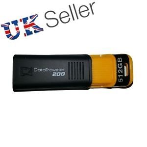 512GB DataTraveler Memory Stick USB Flash Drive Back Up Drive 512 GB