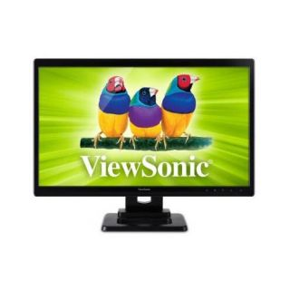"Viewsonic TD2420 24"" LED Touchscreen Monitor 5ms 1920x1080 DVI HDMI VGA"