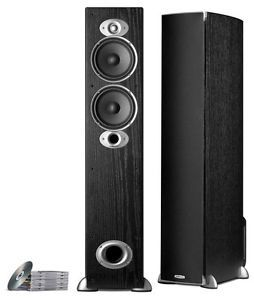 AUDIO RTI A5 HOME THEATER FLOOR STANDING SPEAKER BLACK RTIA5 TOWER
