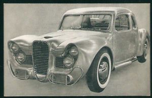 Vintage Arcade Postcard Car Craft Magazine 1936 Ford Coupe Richie Feliz