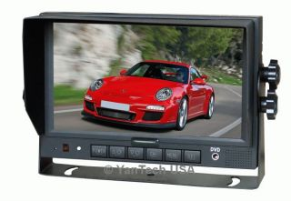 "7"" Color Rear View Backup Camera System TFT LCD CCD Cam"