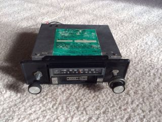 RARE Vintage Audiovox Car Am FM Stereo Radio Cassette Player Model CAS 250C