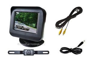Color Rear View Backup Camera System Reverse Safety 2 5