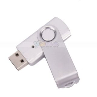 Lot 5 Silver 1GB 1g USB 2 0 Flash Memory Drive Thumb Swivel Design USB2 0
