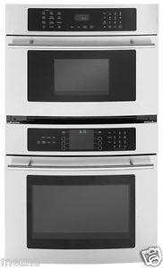 "30"" Jenn Air Stainless Steel Double Wall Oven Microwave Pro Style JMW9530DAS"