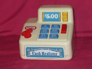 VINTAGE ''THE LITTLE TIKES COMPANY'' TOY CASH REGISTER