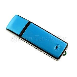 Mini 4GB USB Hidden Spy Portable Digital Voice Recorder Flash Drive Memory
