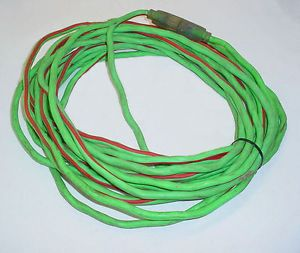 50' Heavy Duty Extension Cord Outdoor 12 3 Drop Cord Single Outlet
