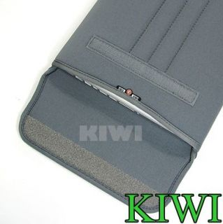 Grey Laptop Sleeve Bag for MacBook Dell HP Acer 15 15 6