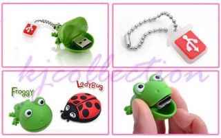TDK Croco 8GB 8g USB Flash Drive Disk Memory Rubber Crocodile Wildlife Animal