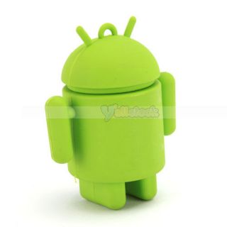 New 4GB Robot USB Flash Memory Drive Green PC Flash