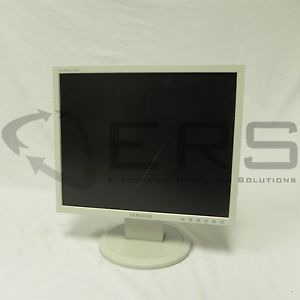 "Samsung 740N Computer Monitor 17"" LCD Screen VGA and Power Cable 729507709024"