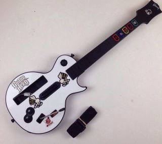 Gibson Les Paul Wireless Controller for Wii Red Octane Guitar Hero 95125 805