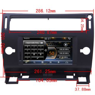 2004 10 Citroen C4 Car GPS Navigation Radio TV Bluetooth USB  iPod DVD Player