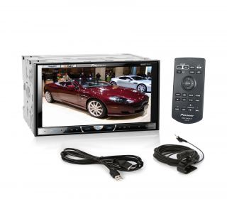 Pioneer AVH X5500BHS Touchscreen DVD  USB Bluetooth Receiver w iPod Control