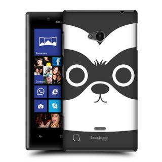 Head Case Cartoon Animal Face Design Snap on Back Case Cover for Nokia Lumia 720