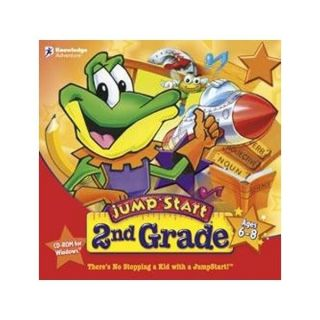 Jumpstart 2nd Grade PC Educational Games Ages 6 8