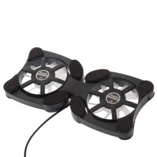 USB 2 Fan Cooling Pad Cooler Laptop Notebook Fan Laptop Cooler Dr