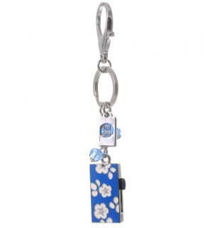FLOWER 2GB USB FLASH DRIVE/MEMORY STICK/PEN KEY RING BRAND NEW E00562