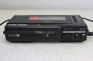 Sony Professional Walkman Stereo Cassette Recorder WM D6C   Vintage