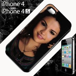SELENA GOMEZ hard back case cover fits IPHONE FOUR 4 4S MOBILE PHONE
