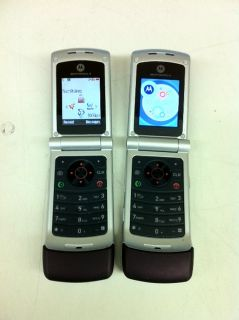 Details about Motorola W385 Flip Camera Cellphones Qty 2 Burgundy
