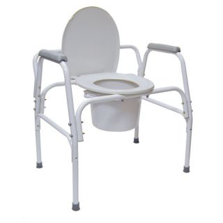 Briggs Healthcare DMI® Extra Wide Heavy Duty Steel Commode