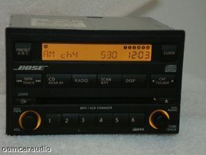 05 06 07 Nissan Pathfinder Bose Radio Stereo 6 Disc Changer CD  Player