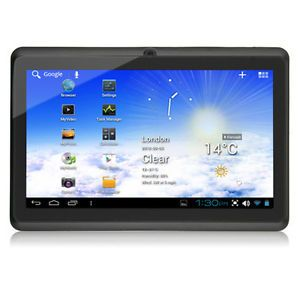 "New 7"" Capacitive Multi Touch Android 4 0 All Winner A13 Tablet PC Netbook ePad"