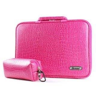 "New Apple MacBook Air 13 3"" Laptop PC Carry Case Sleeve Bag Faux Leather Pink"