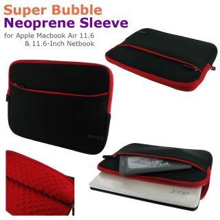 rooCASE Bubble Sleeve Case Cover for Apple MacBook Air 11 6 11 6 inch Netbook